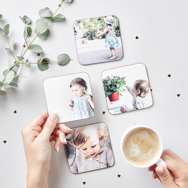 Baby's First Year Photo Coasters