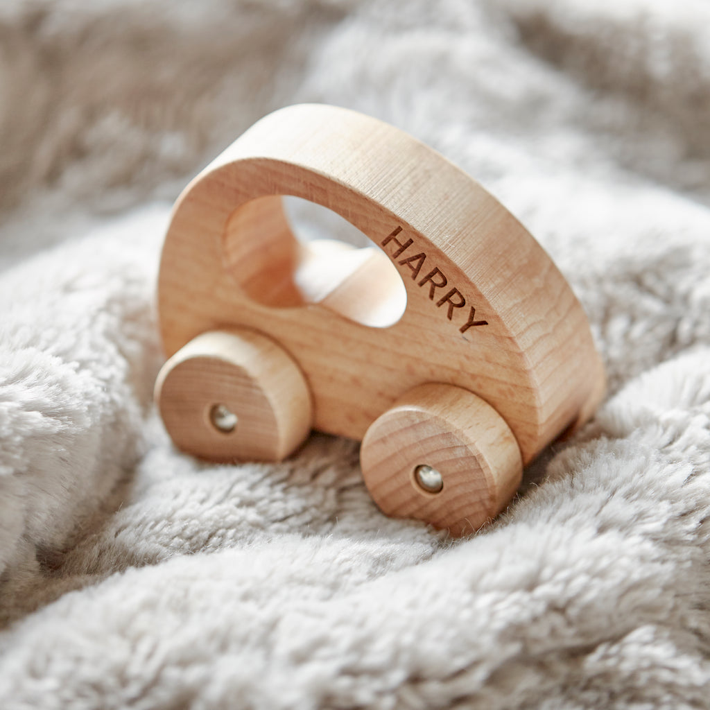Personalised Wooden Car