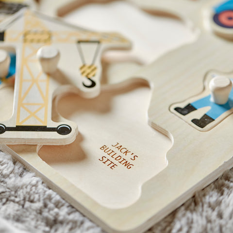 Children's Personalised Wooden Puzzle