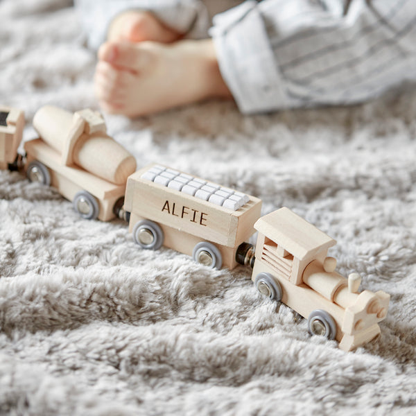 Personalised Wooden Train