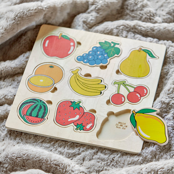 Personalised Fruits Puzzle