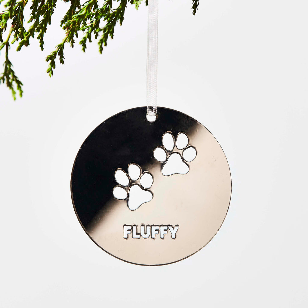 Personalised Pet Cat Decoration
