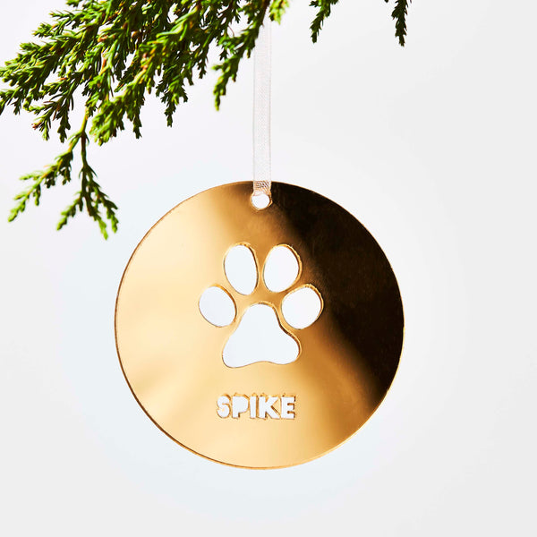 Personalised Pet Dog Christmas Decoration