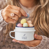 Personalised Enamel Sweet Pot