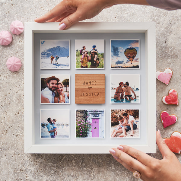 Personalised Framed Couples Photo Print