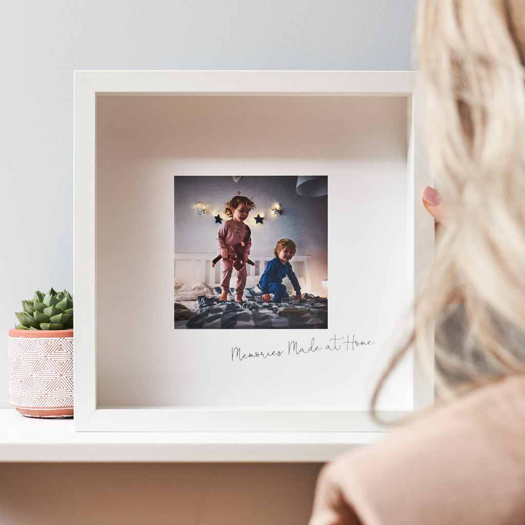 Personalised Memory Framed Print