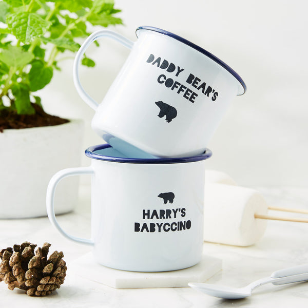 Daddy's Personalised Enamel Mug