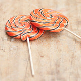Giant Swirly Halloween Lollipop