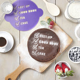 Personalised Mothers Day Cake Stencil
