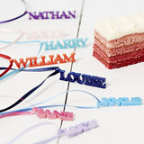 Personalised Napkin Ties