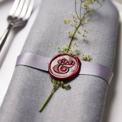 Ampersand Wax Seal Stamp