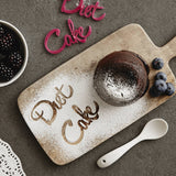 Personalised Diet Cake Baking Stencil