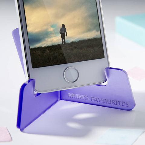 Personalised Mother's Day Phone Stand
