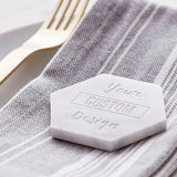 Marble Custom Design Personalised Place Setting