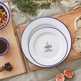 Personalised Adventurer Enamel Plate