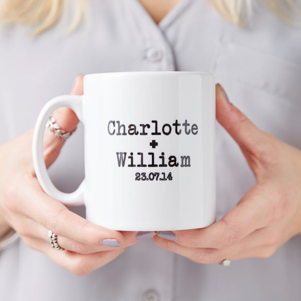 Personalised Couples Mug