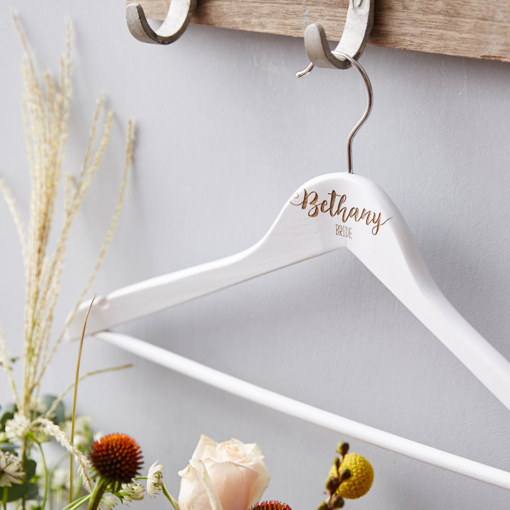 Personalised Bride Hanger
