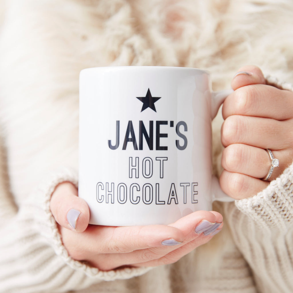Hot Chocolate Personalised Mug
