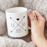 Personalised Wedding Mug