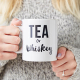 Tea Or Whiskey Personalised Mug