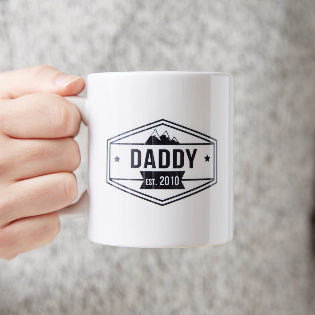 Personalised 'Daddy' Mug