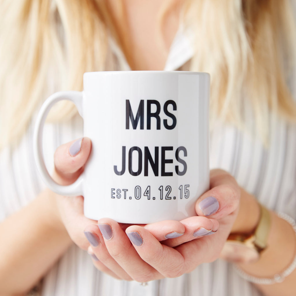 Wedding Personalised Mug