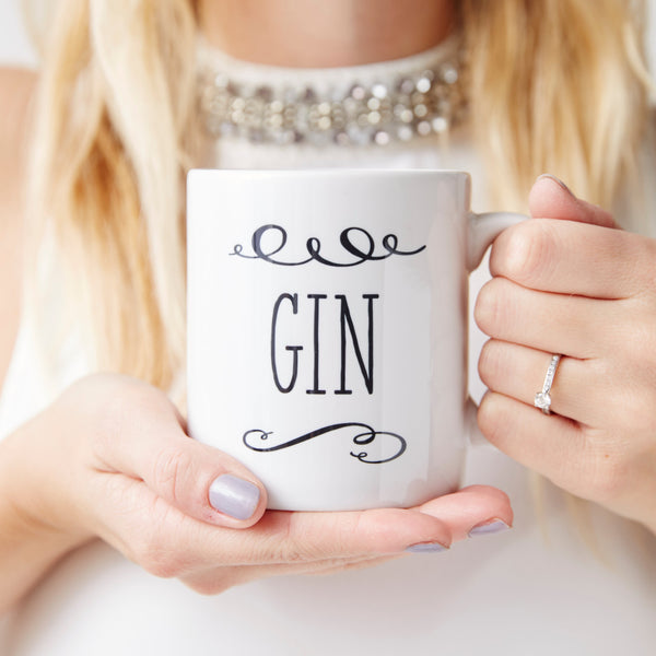 Gin Personalised Mug