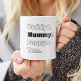 Family Personalised Mug