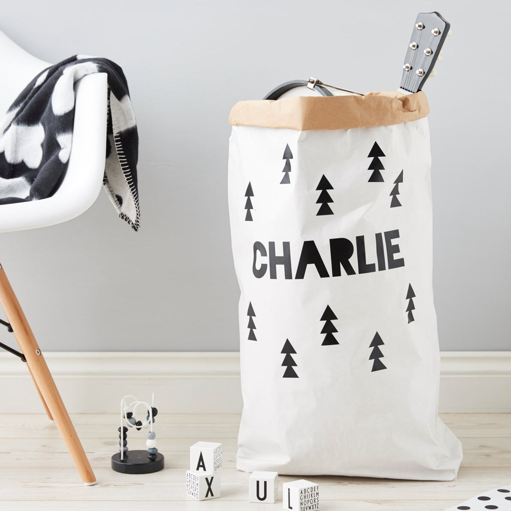Personalised Forest Children's Toy Sack