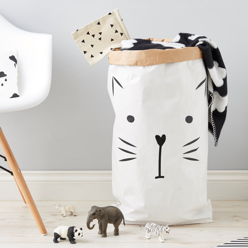 Children's Kitty Cat Storage Sack