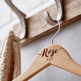 Personalised New Baby Hanger