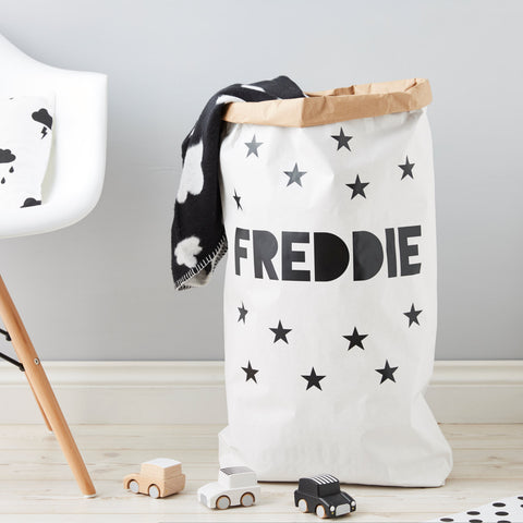 Personalised Little Stars Children's Toy Sack