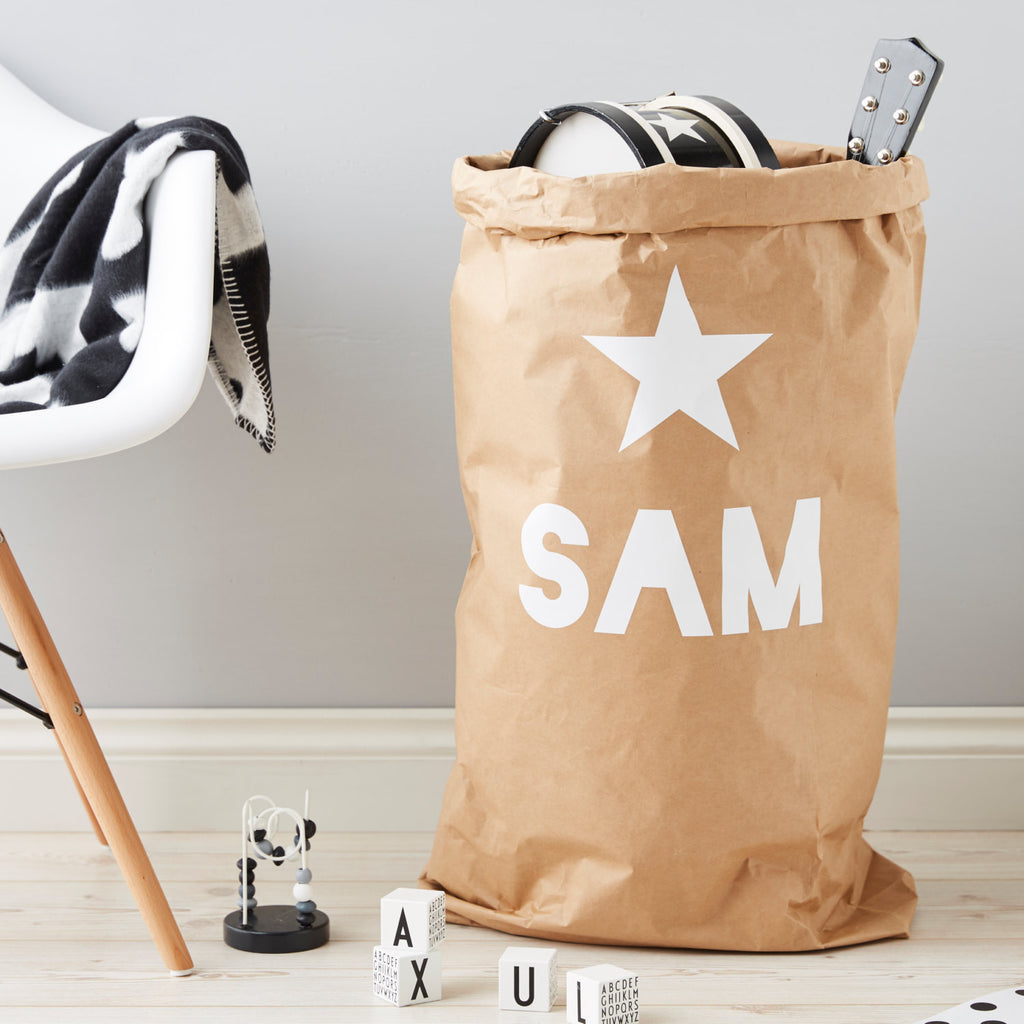 Personalised Star Children's Storage Sack