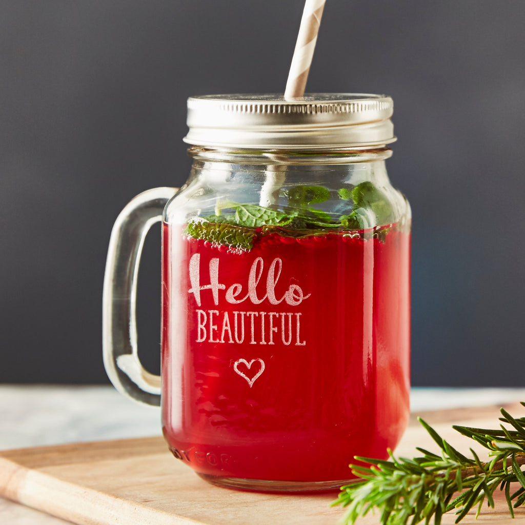Personalised Gift Mason Jar