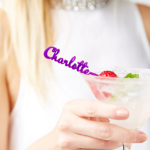 Personalised Drink Skewer