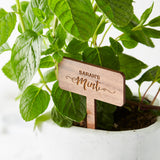 Personalised Wooden Plant Markers