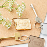 Personalised Wedding Keyring