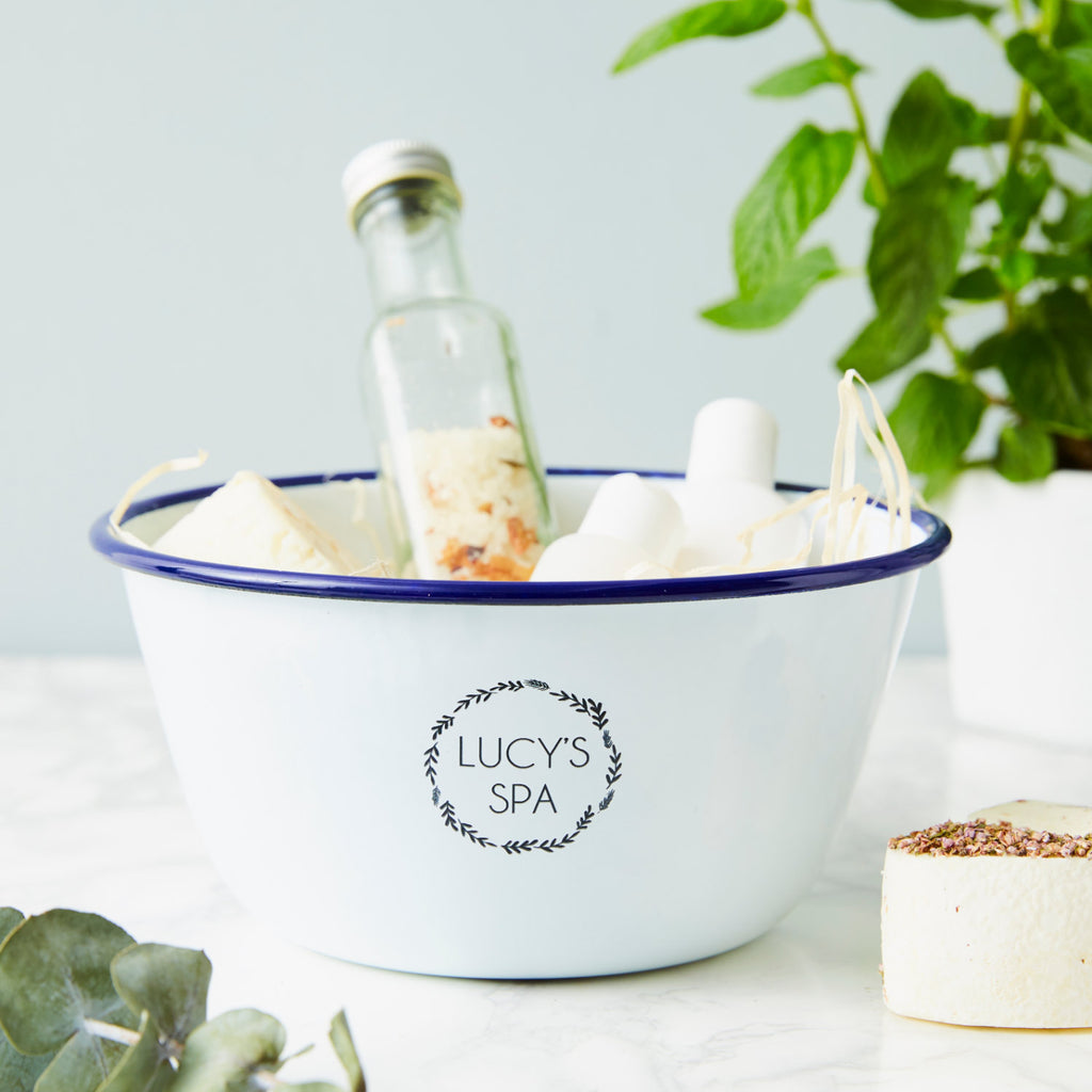 Personalised Spa Storage Bowl
