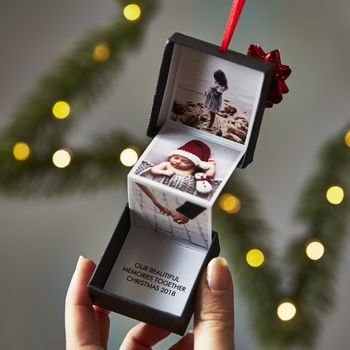 Personalised Photo Christmas Decoration