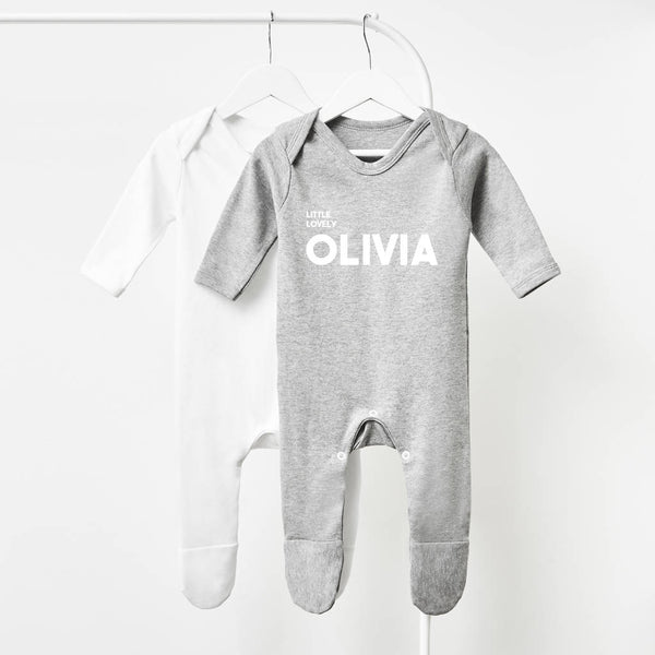 Baby Name Personalised Babygrow