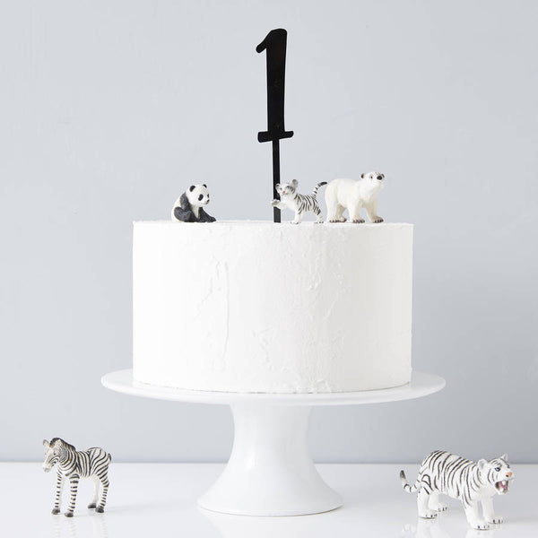 Birthday Age Cake Topper
