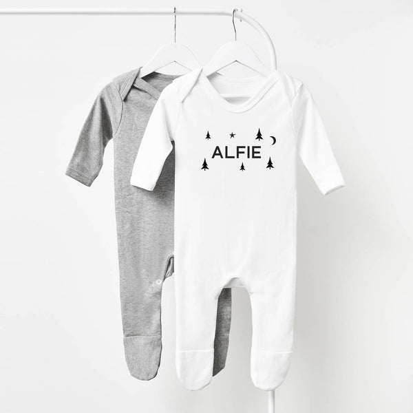 Personalised Christmas Babygrow