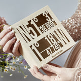 Coordinate Personalised Couples Keepsake Box