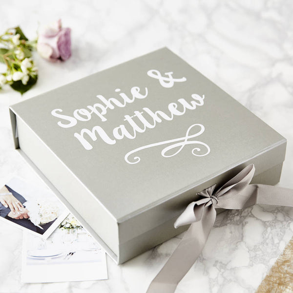 Couple's Personalised Keepsake Box