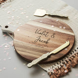 Couples Personalised Chopping Board