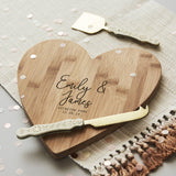 Couples Personalised Chopping/Cheese Board