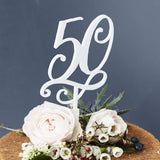 Decorative Birthday Age Cake Topper