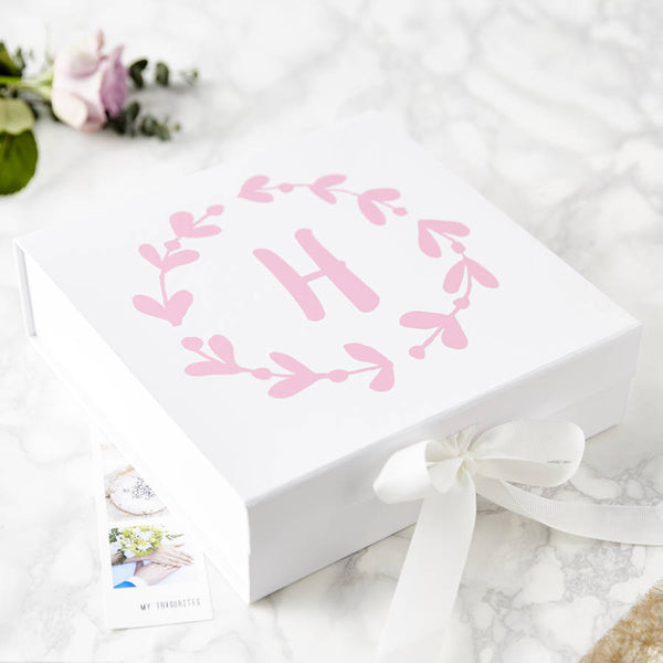 Floral Personalised Keepsake Box
