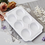 Floral Personalised Muffin Tin