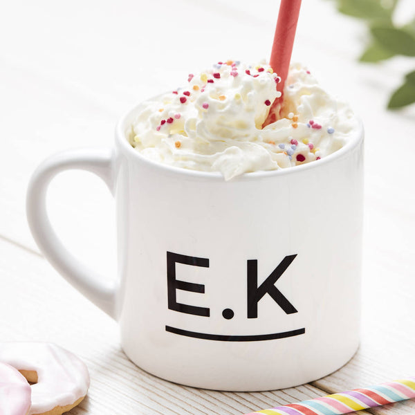 Initials Personalised Children's Mug